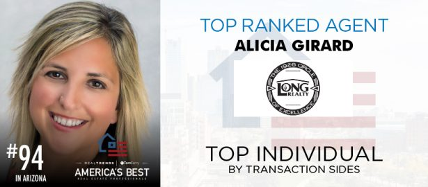 Alicia Girard Top Ranked Agent #94 Arizona